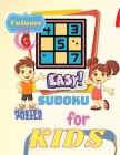 Easy Sudoku for Kids - The Super Sudoku Puzzle Book Volume 6 Cover Image