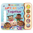 Cocomelon Let's All Sing Together Cover Image
