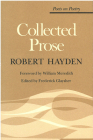 Collected Prose (Poets On Poetry) Cover Image