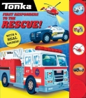 Tonka: First Responders to the Rescue! (4-Button Sound Books) Cover Image