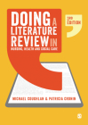 Doing a Literature Review in Nursing, Health and Social Care Cover Image