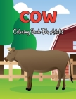 Cow Coloring Book For Adults: An Adult Coloring Book with Stress Relieving Cow Designs for Adults Relaxation.Volume-1 Cover Image