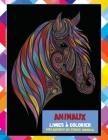 Livres à colorier - Soulagement du stress Mandala - Animaux Cover Image