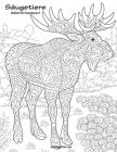 Säugetiere Malbuch für Erwachsene 2 Cover Image