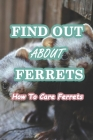 Find Out About Ferrets: How To Care Ferrets: The Complete Guide to Turning Your Ferret Into the Happiest, Best-Behaved and Healthiest Pet in t Cover Image