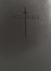 Kjver Sword Study Bible Giant Print Charcoal Grey Ultrasoft: King James Version Easy Read Cover Image