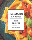 123 Homemade Ravioli Recipes: Welcome to Ravioli Cookbook Cover Image