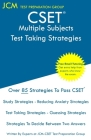 CSET Multiple Subjects - Test Taking Strategies: Free Online Tutoring - New 2020 Edition - The latest strategies to pass your exam. Cover Image