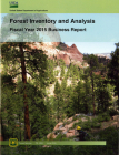 Forest Inventory and Analysis Fiscal Year 2015 Business Report Cover Image