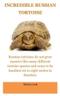 Incredible Tortoise: The Russian Tortoise: Russian Tortoise Care For Beginners. All You Need To Know Concern The Daily Care, Pro's and Cons Cover Image