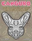 Libri da colorare per adulti per matite e pennarelli - Mandala - Animale - Canguro Cover Image