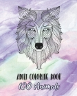 Adult Coloring Book: 100 Animals Cover Image