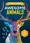 Sticker by Sticker: Awesome Animals Cover Image