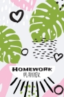 Homework Planner: Assignment Planner for Student Daily Tracker, Schedule Organizer, Reminder and Study Planner for School and College Pe Cover Image