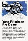 Yona Friedman / Pro Domo Cover Image