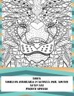 Libri da colorare Mandala per adulti - Pagine spesse - Animali - Lions Cover Image