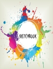 Sketch Book: Large Notebook 8.5