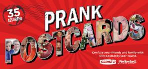 Prank Postcards Cover Image
