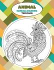 Mandala Coloring Thick paper - Animal Cover Image