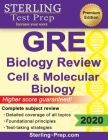 Sterling Test Prep GRE Biology: Review of Cell and Molecular Biology Cover Image