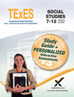 TExES Social Studies 7-12 232 Book + Online Cover Image