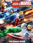 Lego Super Heroes coloring book: Great Coloring Book for Kids and Fans -High Quality Lego Super Heroes Coloring Pages, More than 30+ Illustrations, Fo Cover Image
