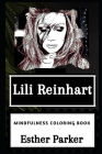 Lili Reinhart Mindfulness Coloring Book Cover Image