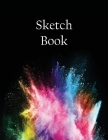 Sketch Book: Notebook for Drawing, Writing, Painting, Sketching or Doodling, 110 Pages, 8.5x11 Cover Image