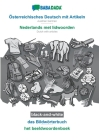 BABADADA black-and-white, Österreichisches Deutsch mit Artikeln - Nederlands met lidwoorden, das Bildwörterbuch - het beeldwoordenboek: Austrian Germa Cover Image