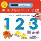Alphaprints: Trace, Write, and Learn 123 Cover Image