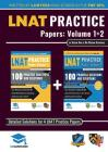 LNAT Practice Papers Volumes 1 and 2: 4 Full Mock Papers, 200 Questions in the style of the LNAT, Detailed Worked Solutions, Law National Aptitude Tes Cover Image