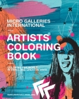 Micro Galleries International Artists Coloring Book Cover Image