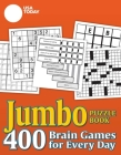 USA TODAY Jumbo Puzzle Book: 400 Brain Games for Every Day (USA Today Puzzles) Cover Image