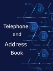 Telephone and Address Book: Large Print Phone Book and Adresses Book with Tabs Cover Image