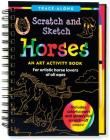 Scratch & Sketch Horses Cover Image