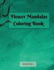 Flower Mandalas Coloring book Cover Image