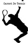 Carnet De Tennis: Carnet de note - Bloc-notes - 21,59x27,94 cm, 100 pages Cover Image