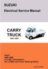 SUZUKI CARRY DA63T Electrical Service Manual & Diagrams Cover Image