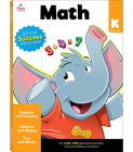 Math Workbook, Grade K Cover Image