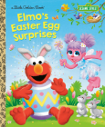 Elmo's Easter Egg Surprises (Sesame Street) (Little Golden Book) Cover Image