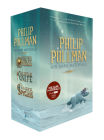 His Dark Materials 3-Book Paperback Boxed Set: The Golden Compass; The Subtle Knife; The Amber Spyglass Cover Image