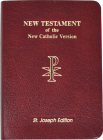New Catholic New Testament Bible Cover Image