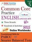 Common Core Practice - 5th Grade English Language Arts: Workbooks to Prepare for the PARCC or Smarter Balanced Test Cover Image