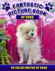 Fantastic Picture Book of Dogs. 40 Color Photos of Dogs: Picture Book Gift for Seniors/Adults & Alzheimer's/Dementia Patients. Cover Image
