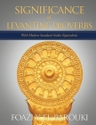 Significance of Levantine Proverbs: With Modern Standard Arabic Equivalents Cover Image