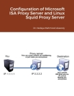 Configuration of Microsoft ISA Proxy Server and Linux Squid Proxy Server Cover Image