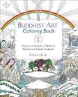 Buddhist Art Coloring, Book 1: Auspicious Symbols and Mythical Motifs from the Tibetan Tradition Cover Image