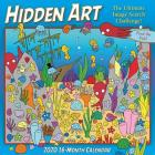 2020 Hidden Art the Ultimate Image Search Calendar 16-Month Wall Calendar: By Sellers Publishing Cover Image