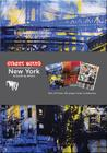Street Notes-New York Artwork by AVone: Set of three 48-page lined notebooks Cover Image