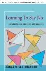 Learning to Say No: Establishing Healthy Boundaries Cover Image